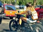 Cowgirl Biker
