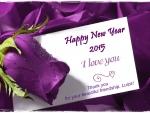 Happy New Year, Luiza