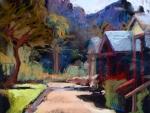 Back at the Ranch-Susan Pitcairn pastel