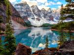 Beautiful Moraine lake