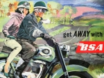 BSA Motorcycle Advertisment