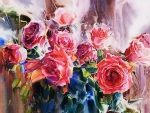 Pink Roses F