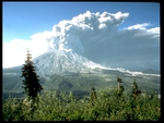 Mt Saint Helens Eruption