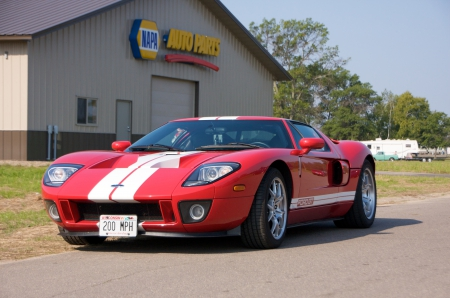 Ford GT - gt, musclecar, gt40, ford