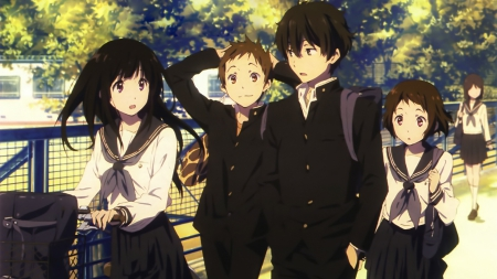 Hyouka Other Anime Background Wallpapers On Desktop Nexus Image 1910602