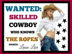 Cowgirl Ariella - Hidden Message - Colored Edition