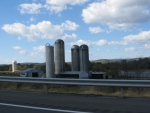 Clouds Over Tall Silos