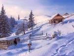Winter in the Carpathians