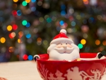 Santa in a cup