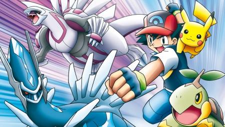 Pokemon Diamond And Pearl Pokemon Anime Background