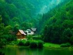 cabins on the lakeside transylvania
