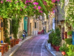 Lovely Side Street in Athens, Greece