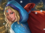 Crystal maiden for Christmas