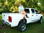 Cowgirls Truck