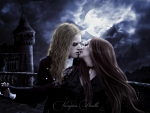 Tender Kiss of the Vampire