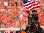 Cowgirl Celebrates America