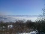 Hidden city by the fog