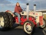 Vintage Hot Rod Tractor