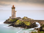 Lighthouse at Brittany, France