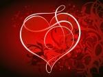 Fancy Valentine Heart 1