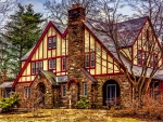 American Tudor-Style Home