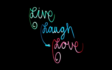 Live Laugh Love 3d And Cg Abstract Background Wallpapers On Desktop Nexus Image 1919324