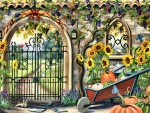 Garden Gate in Autumn F1