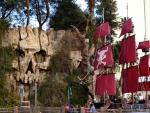 Skull Wall at Treasure Island