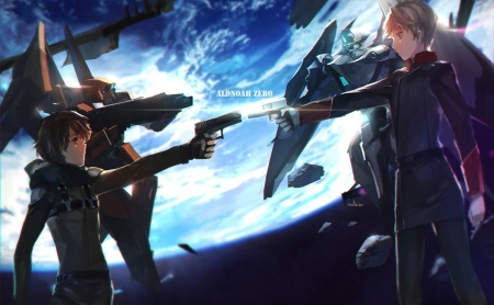 Aldnoah.Zero - male, mecha, space, anime, zero, manga, scifi, aldnoah