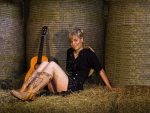 Cowgirl In The Hay Loft