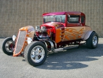Flamed Hot Rod