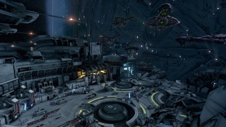 Forward Unto Dawn - ships, space, outer space, space stations, futuristic, spaceships, docks