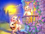 Romeo & Juliette by Piggiest