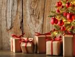 * Christmas gifts *