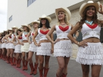 Cowgirls In A Line
