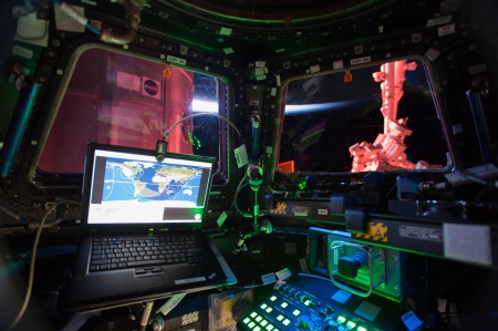 in the space station - space station, fun, cool, interior, space