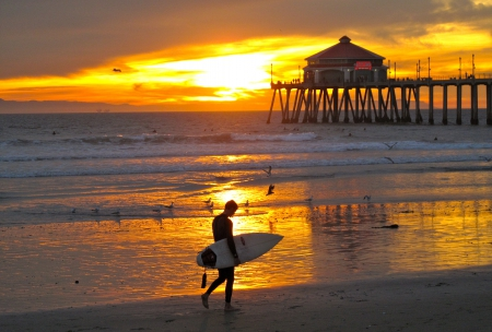 Huntington Beach, Surf City USA