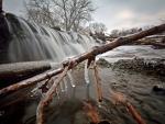 the ice flow
