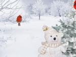 Teddy Bear Winter