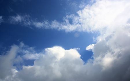 Northwind - nature, blue skies, sky, clouds