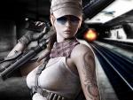 Warrior Girl-Metro