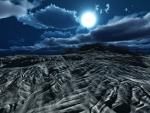 MOONLIT DESERT