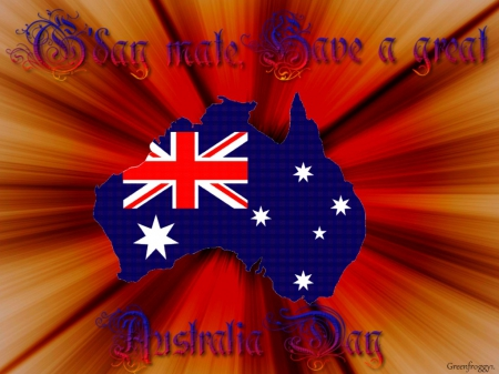 AUSTRALIA DAY - DAY, MATE, GOOD, AUSTRALIA