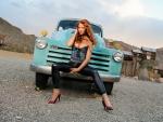 Cowgirl Samantha Harris