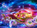 The Beautiful Princess in the Carriage