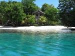 Hidden House On Tropical Beach