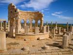 The Leptis Magna Ruins in Libya
