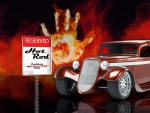 Hot Rod Parking Only