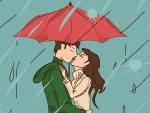 Rainy Day Kiss