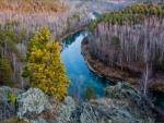 Autumn River, Siberia